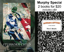 Murphy Special: 2 books of poetry by Peter E. Murphy for $20